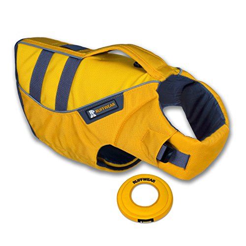 Ruffwear K-9 Float Coat Lifejacket (Dandelion Yellow - XL) with Hydro Plane Thro