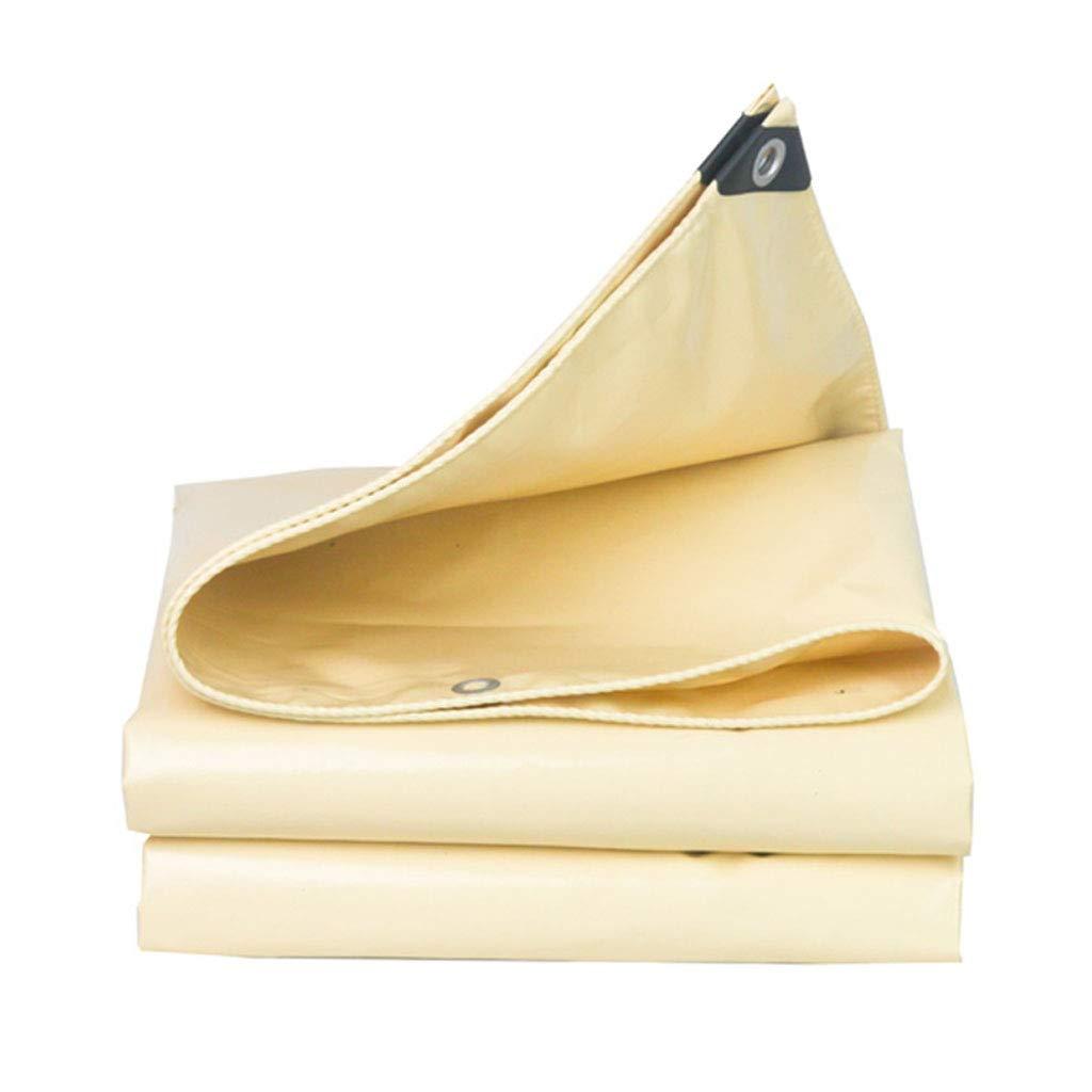 YX-Planen Dicke PVC-Plane Reversible Waterproof Gelb - 100% wasserdicht und und und UV-geschützt - Dicke 0,5 mm, 580 g m² B07KT17DVH Zeltplanen Vorzugspreis a31a33