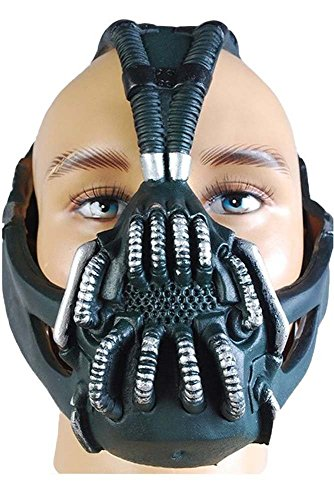 Dark Helmet Costumes (Batman The Dark Knight Rise Bane Mask Replica Helmet)
