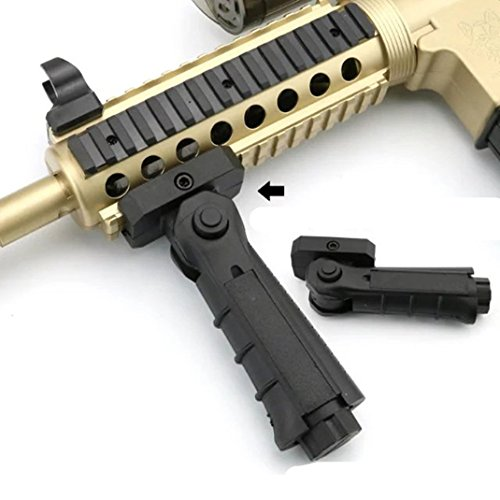 Polymer Grip fit for Picatinny Rail Mount (Black#2)