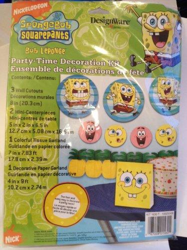 Spongebob Squarepants Party-Time Decoration Kit ()