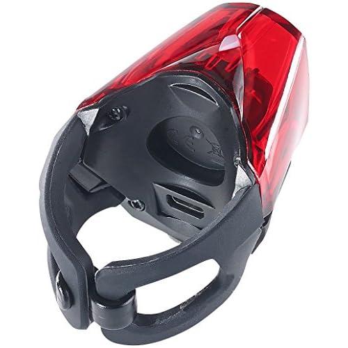 Lampe de sécurité rechargeable à LED rouges