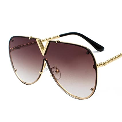 BiuTeFang Gafas de Sol Mujer Hombre Polarizadas V Tendencia ...