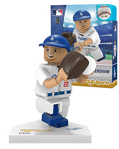 - MLB Los Angeles Dodgers Clayton Kershaw Home Uniform Limited Edition OYO Minifigure