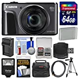Canon PowerShot SX720 HS Wi-Fi Digital Camera with 64GB Card + Case + Flash + Battery & Charger + Tripod + Kit Review