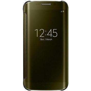 5fb8cc5b69a Samsung BT-EFZG925BF - Funda para Samsung Galaxy S6 Edge, color amarillo-  Versión Extranjera: Amazon.es: Electrónica