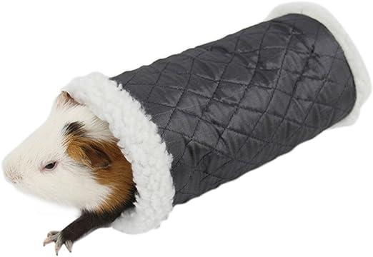 qianle hámster Casa túnel juguete hámster cabaña algodón Dick hámster jaula: Amazon.es: Productos para mascotas