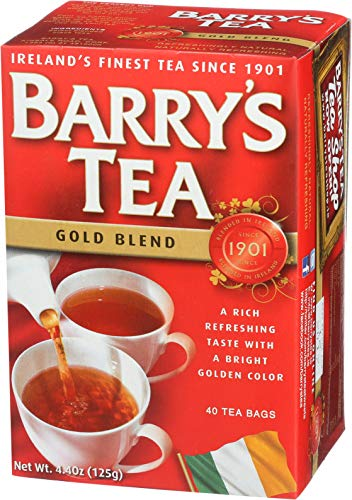 Barrys Gold Blend Tea Bags, 80 Count, 8.8 Ounce (Pack of 6) from Barry's Tea