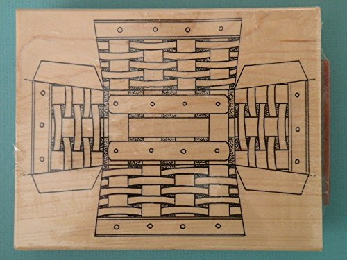 Rubber Stamp Tea Time Basket - #3173-S