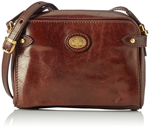 The Bridge Story Donna borsa a tracolla pelle 22 cm Braun (Brown 14)