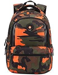 Boy's camouflage schoolbag backpack rucksack travel bag