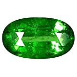 0.65 ct Oval Cut (7 x 4 mm) Russian Tsavorite Garnet Natural Loose Gemstone