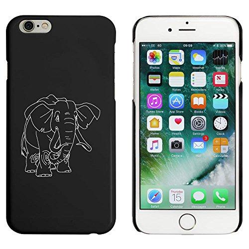 Noir 'Éléphant d'Afrique' étui / housse pour iPhone 6 & 6s (MC00046873)