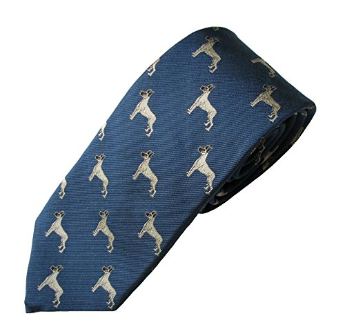 Great Dane Tie - Great Dane (Fawn) Tie (Men's Dog Breed Neck Tie)