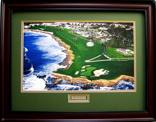 18th Hole Framed (Pebble Beach 18th Hole)