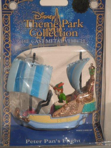 DISNEY THEME PARK COLLECTION DIE CAST METAL VEHICLE: PETER PAN'S - Flight Pan