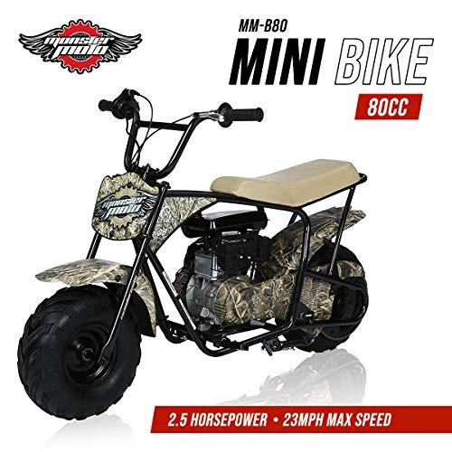 Mega Moto MM-B80RT 80CC 2.5HP - Real Tree Camo without Suspension mini bike - Flying New Horse