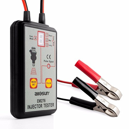 Auto 12V Fuel System Scan Tool Fuel Injector Tester 4 Pluse Modes