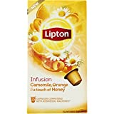 nespresso orange - 60 x LIPTON - Nespresso OriginalLine Compatible Capsules - INFUSION CAMOMILE, ORANGE & a touch of HONEY
