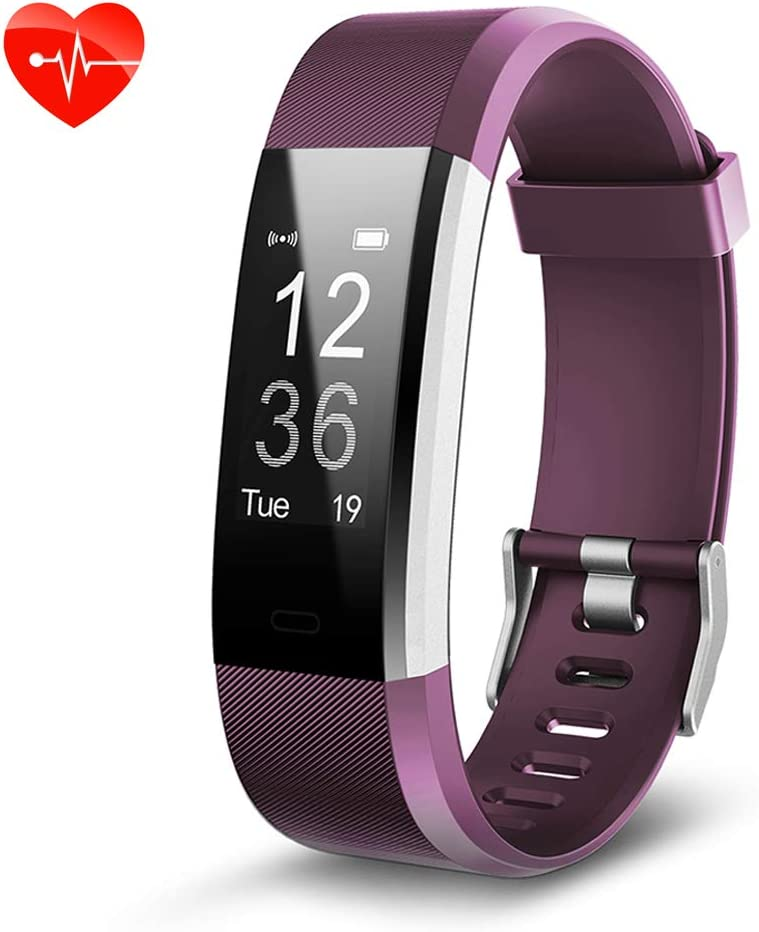 Effeltch Fitness Tracker HR, Activity Tracker with Heart Rate Monitor Fitness Tracker IP 67 Waterproof with Auto-Sleep Monitor and Multi Tracking Modes for Women Kids Men
