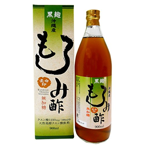 (900mlX1 pieces Okinawa Prefecture black malt vinegar mash-free sweetened type)