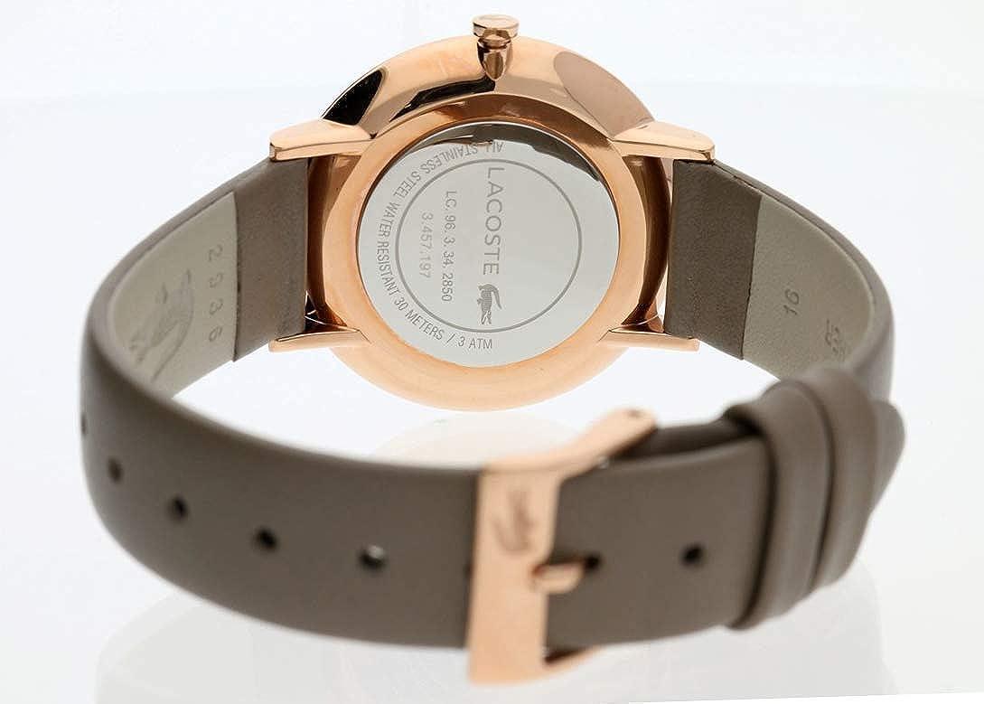 Avec En Montres Bracelet Analogique Lacoste Quartz Mixte R5A4Lj