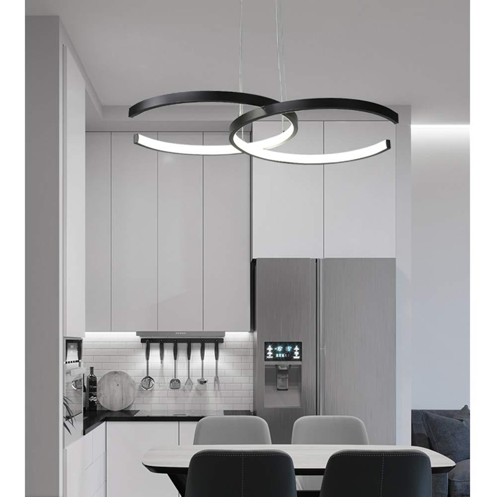 Amazon.com: Moderna lámpara LED de comedor colgante de luz ...