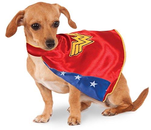 Faerynicethings Large Wonder Woman Cape - Pet Costume -