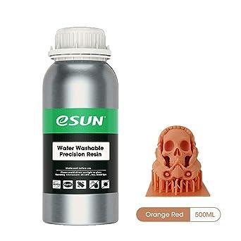 eSUN LCD UV 405nm Resina Rápida Cera Roja Lavable con Agua para ...