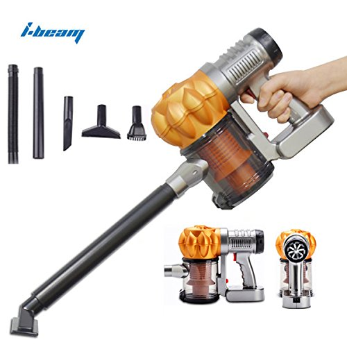 i-beam Super Cyclone Vehicle Vacuum Cleaner 12V Portable Handheld Car Cleaning Kit Orange