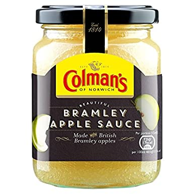 Bramley Manzana Salsa 250ml de Colman (Pack de 6 x 250 ml)