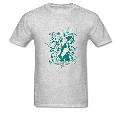 Dangerous Men's Beefy T Shirt XXL Gray ()