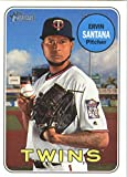 Baseball MLB 2018 Topps Heritage #213 Ervin Santana #213 NM Near Mint Twins