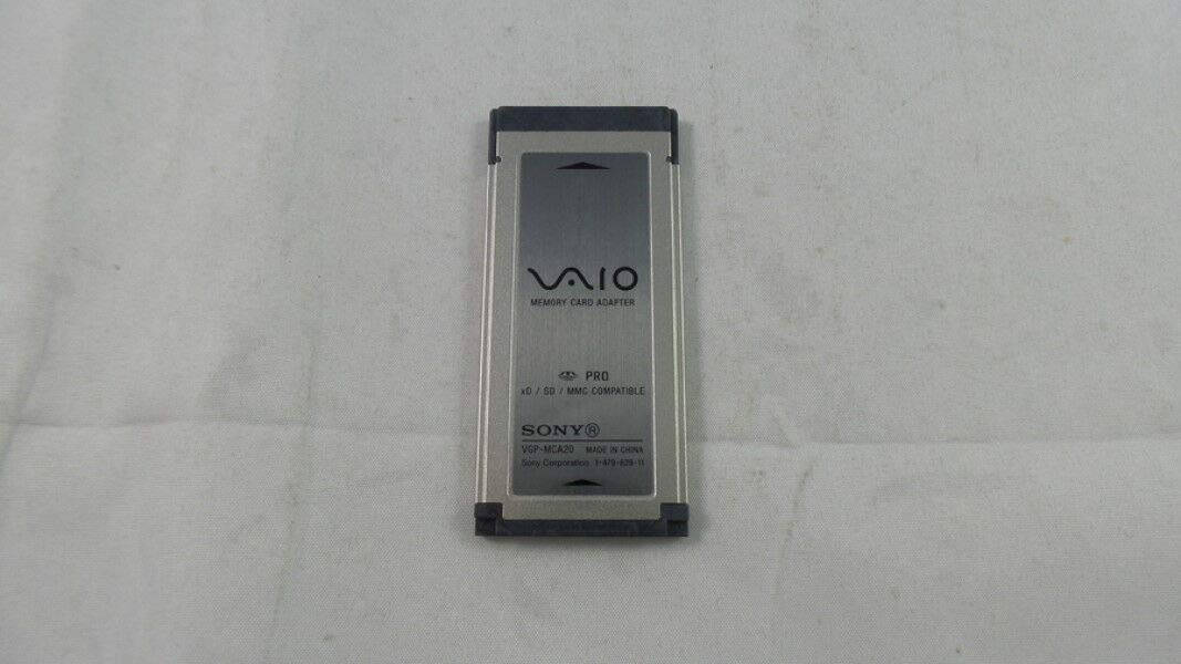 SONY VAIO MEMORY CARD ADAPTER VGP-MCA20 DRIVER FOR WINDOWS 7