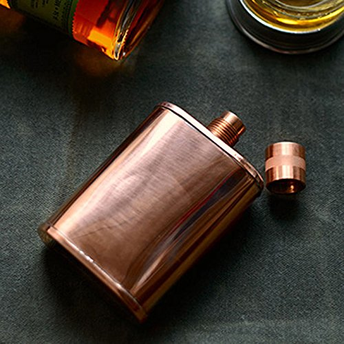Jacob Bromwell The Vermonter Copper Flask by Jacob Bromwell