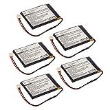 5pcs eBook Reader Li-Po Battery EBBK-ND2700 for Nexto DI ND2700, DI ND 2725 Nexto DI ND 2725, Nexto DI ND2700, Nexto NENA-21120, Nexto NENA-PWBT10001