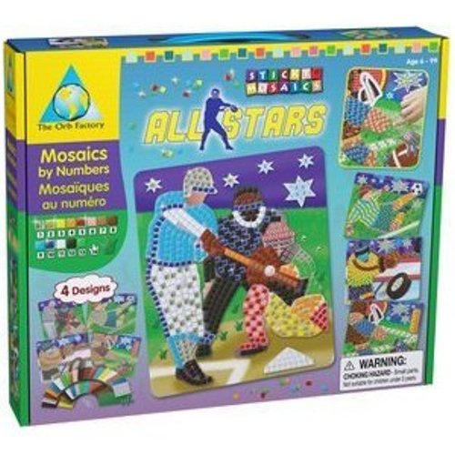Orb Factory Magnetic Mosaics - Orb Factory Sticky Mosaic All Stars