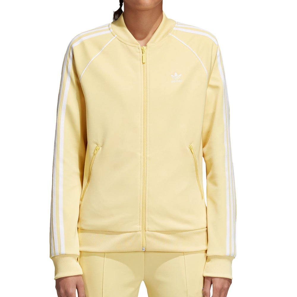 adidas Originals Women's SST Track Jacket Sand X-Large
