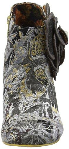 Irregular ChoicePearl Necture - Zapatos de Tacón mujer Negro (negro/gris)