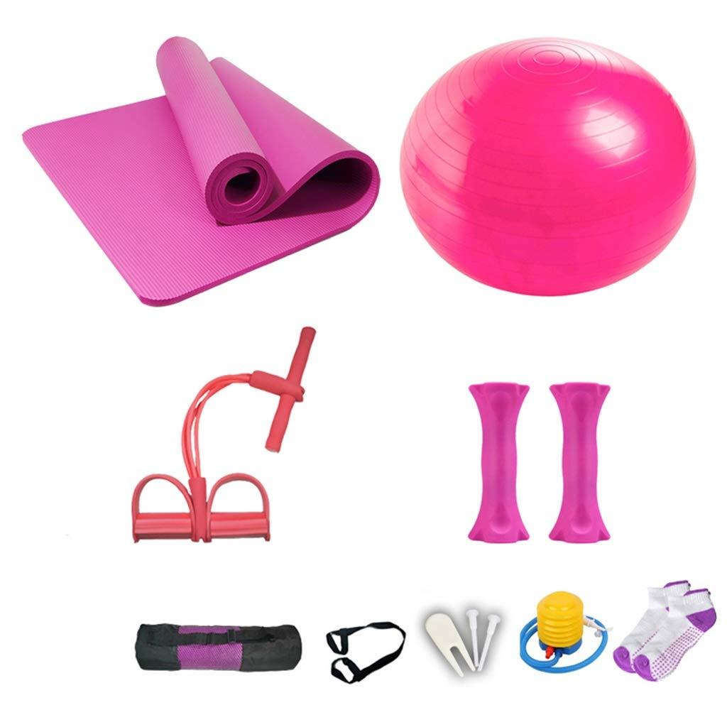 Zhiniu Yoga Sport Anzug, Yoga Ball Yoga Matte Fitness Matte Puller Aerobic Exerciseur Stovepipe Gewichtsverlust Ausrüstung