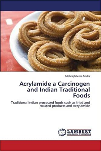 Acrylamide a Carcinogen and Indian Traditional Foods: Traditional Indian processed foods such as fried and roasted products and Acrylamide