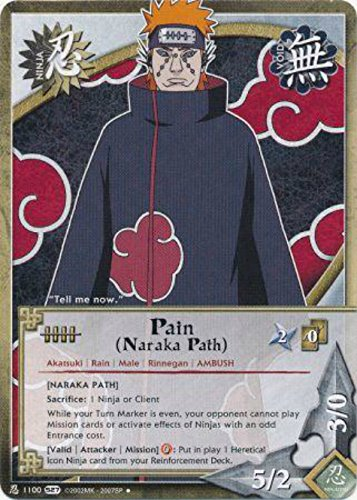 Naruto Card - Pain (Naraka Path) [Naraka Path] 1100 - Starter Set - Uncommon