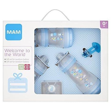MAM Bienvenido a el mundo botella Set a partir de recién ...