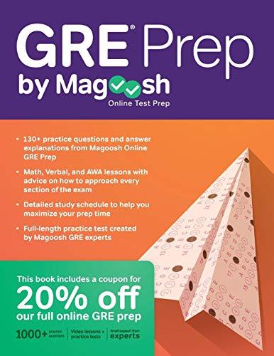 Pdf Test Preparation GRE Prep by Magoosh