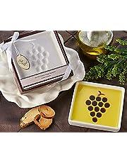 "Artisano Designs ""Vineyard Select"" Olive Oil and Balsamic Vinegar Dipping Plate"