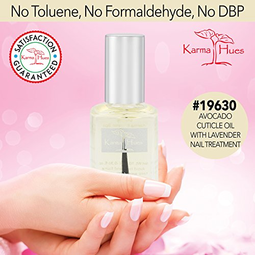 Karma Organic Avocado Cuticle Oil with Lavender Nail Treatment Non-Toxic Vegan Cruelty-Free by Karma Organic Spa (Image #3)
