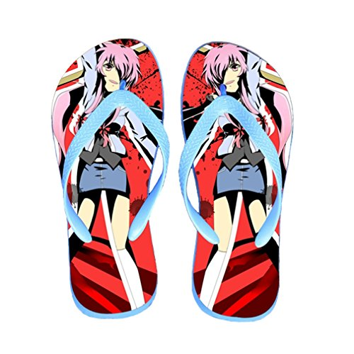 Bromeo The Future Diary Anime Unisex Flip Flops Chanclas 294