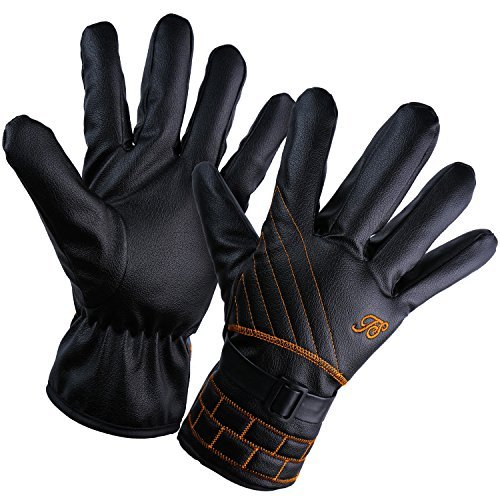 YQXCC Winter Gloves Warm Touch Screen Waterproof Windproof Outdoor Cycling Sports Gloves for Men and Women