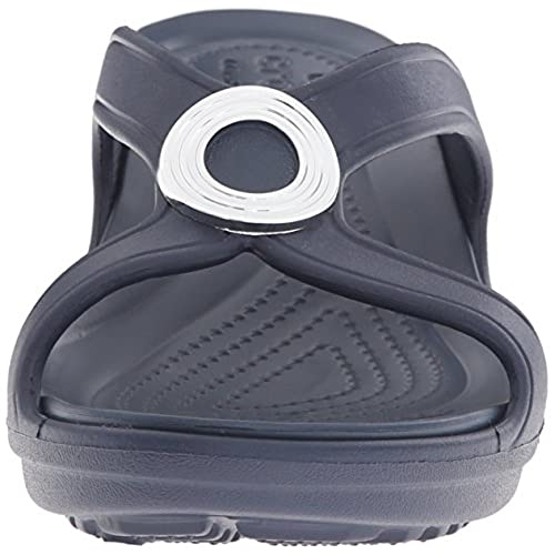 dea10c0e85f5 durable modeling Crocs Women s Sanrah Beveled Circle W Wedge Sandal ...