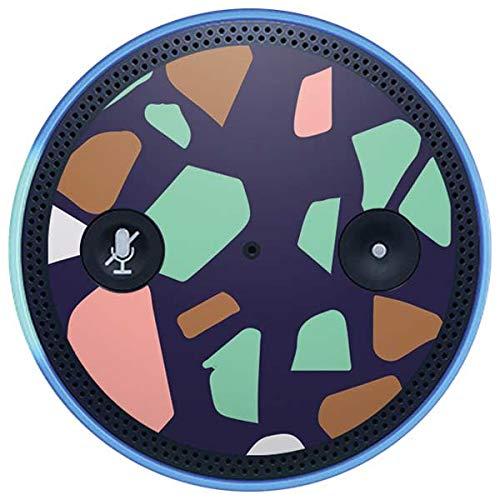 Skinit Speckle Amazon Echo Plus Skin - Midnight Terrazzo Design - Ultra Thin, Lightweight Vinyl Decal Protection